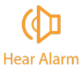 Click to hear alarm