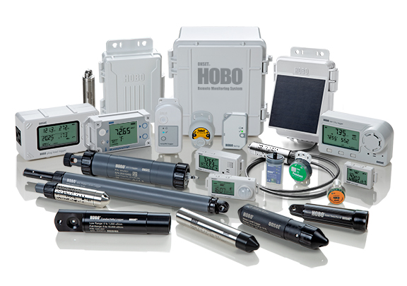 Onset's Product Family of Data Loggers