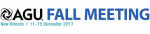 American Geophysical Union (AGU) Fall Meeting  logo