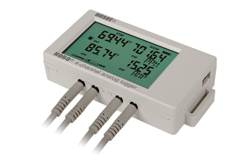 UX120-006M HOBO 4-Channel Analog Data Logger