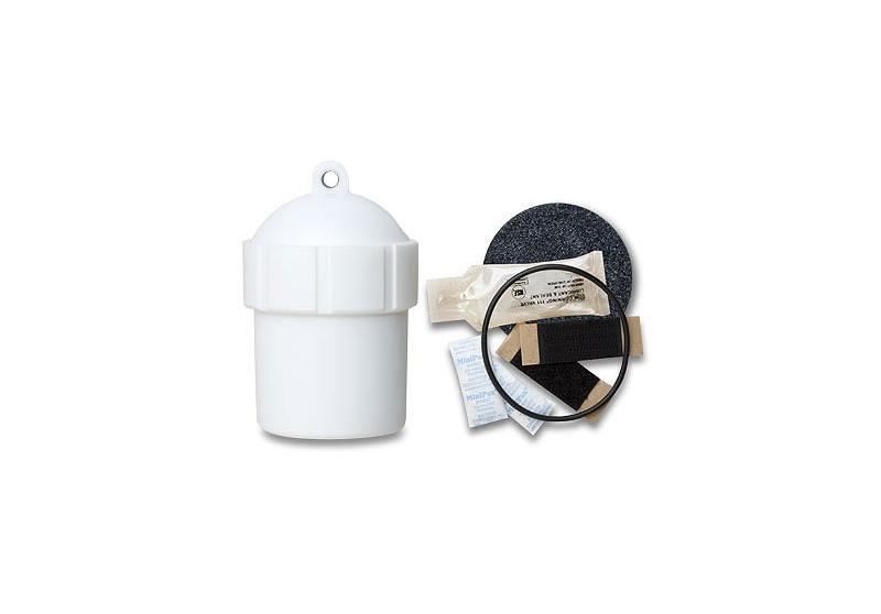 SUBC2-WH Submersible case with dome top - White