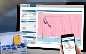 InTempConnect being used to monitor vaccine temperature data logs