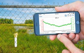 Water Level Monitoring Provides Concrete Data for Long-term Wetland Study