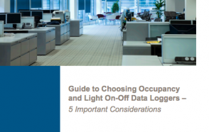 Choosing an Occupancy and Light On/Off Data Logger – 5 Important Considerations