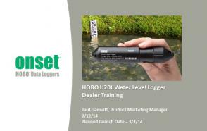 HOBO U20L Series Introduction and Water Level Logger Deployment Tips