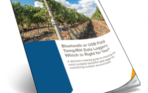 Bluetooth or USB Field Temp/RH Data Loggers: Which is Right for You?
