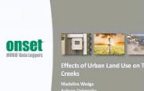 Effects of Urban Land Use on Tidal Creeks