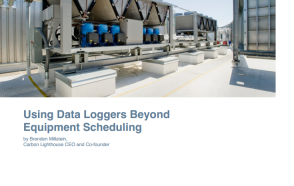 Using Data Loggers Beyond Equipment Scheduling