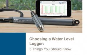 Choosing A Water Level Logger: 5 Things You Should Know