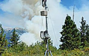 Weather Station Aids Wildfire Management