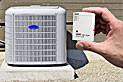 DATA LOGGERS TO ASSESS AIR CONDITIONING SYSTEM EFFICIENCY GAINS IN CALIFORNIA HOMES